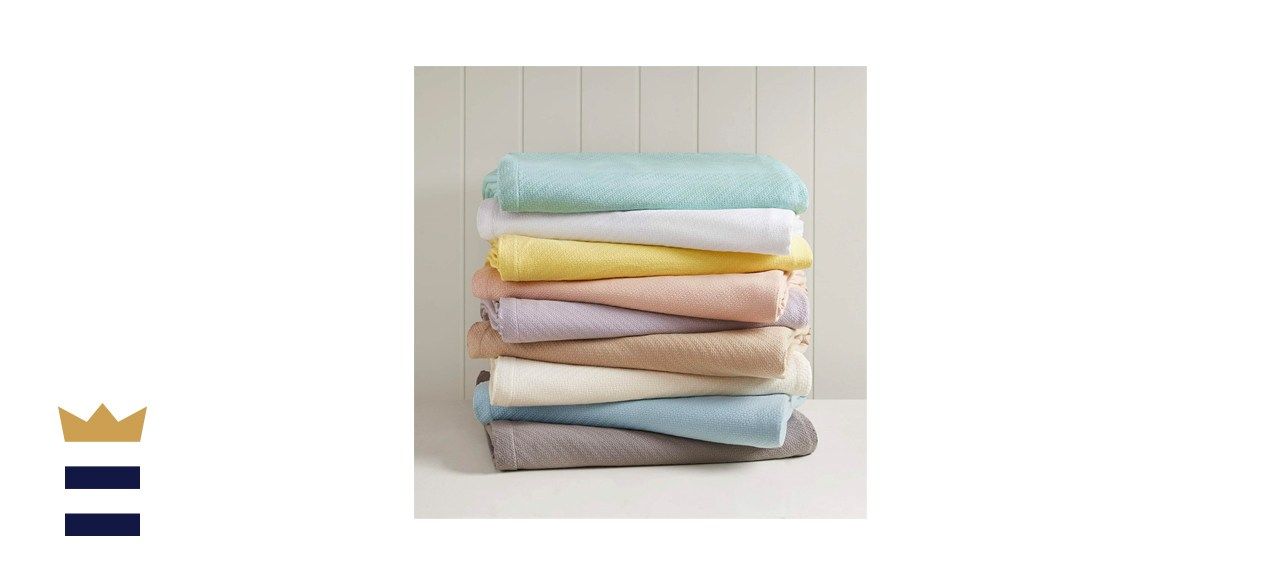 Madison Park Liquid Cotton Luxury Blanket
