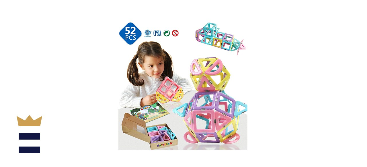 MAGBLOCK Magnetic 3D Magnet Toys in Candy Colors