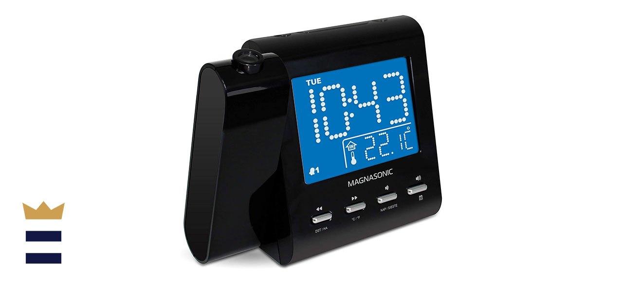 Magnasonic Projection Alarm Clock