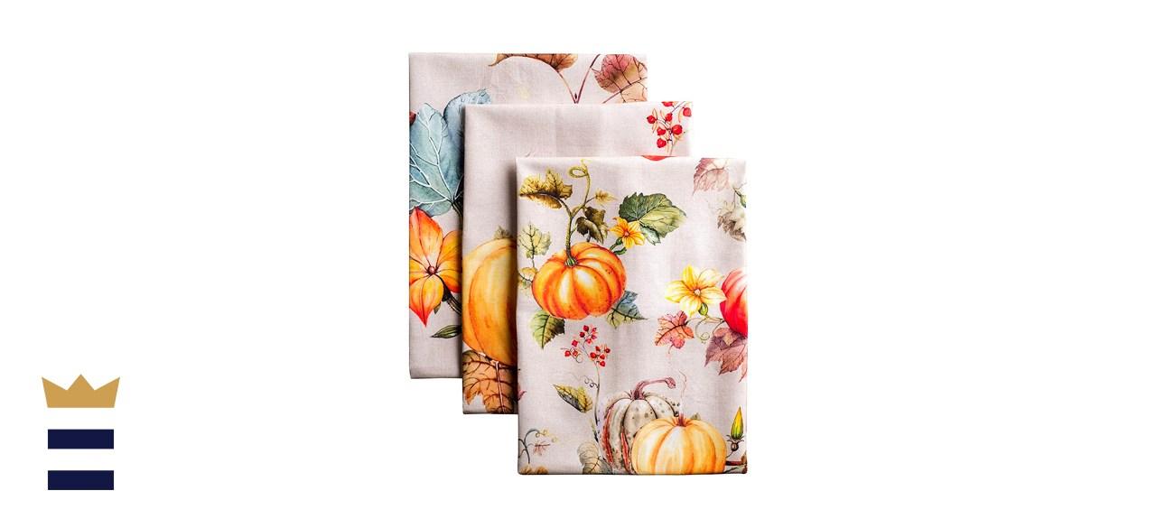 Maison d' Hermine Potiron Tea Towels