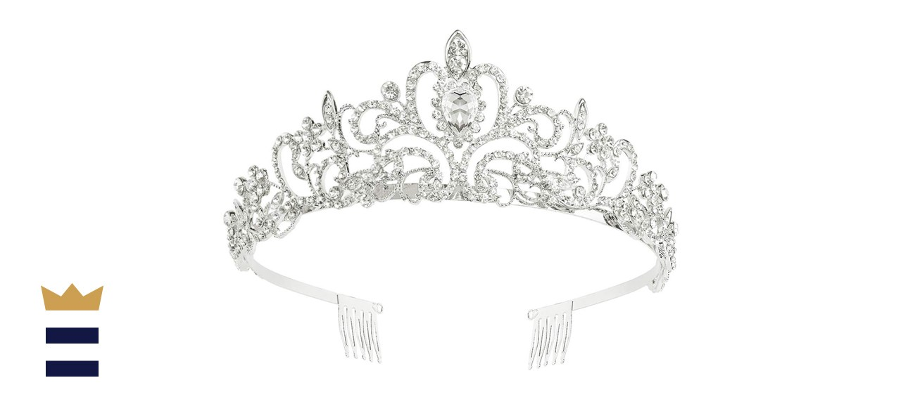 Makone Crystal Crown with Comb