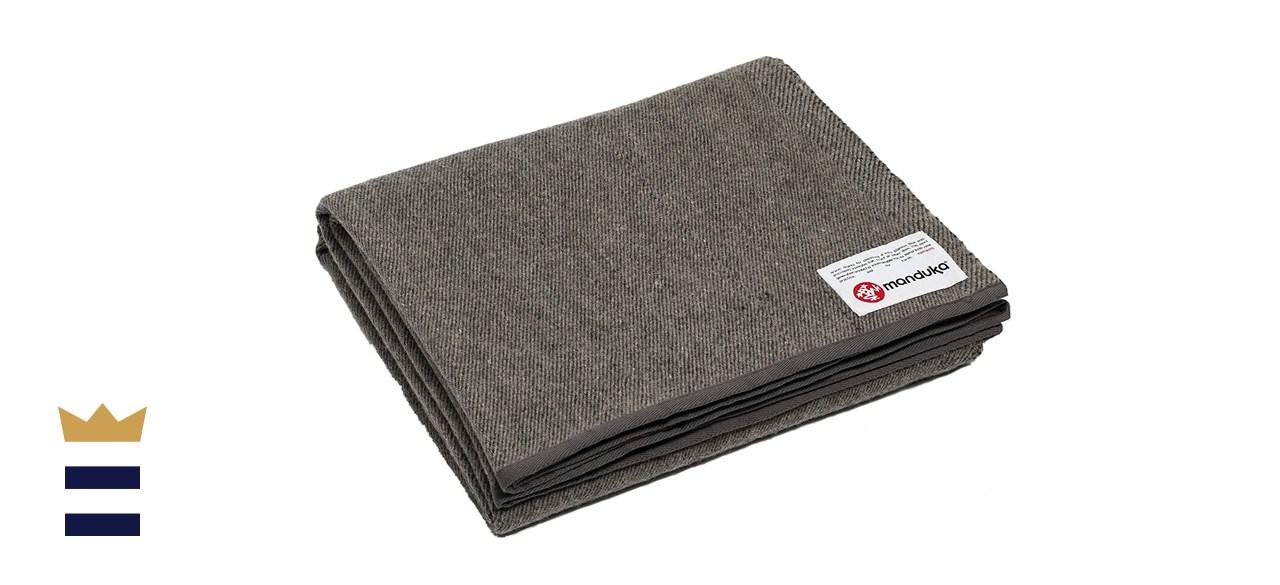 Manduka Recycled Wool Yoga Blanket