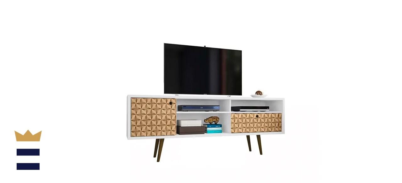 Manhattan Comfort Liberty Mid-Century-Modern TV Stand