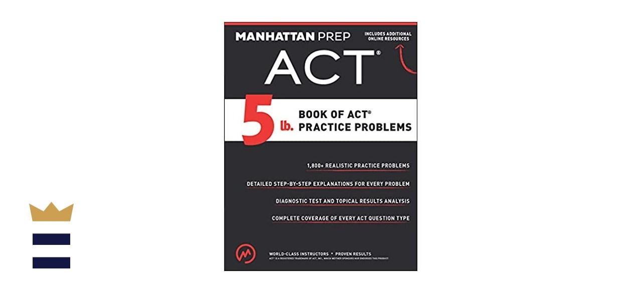 Manhattan Prep 5 lb. Book of Practice Problems