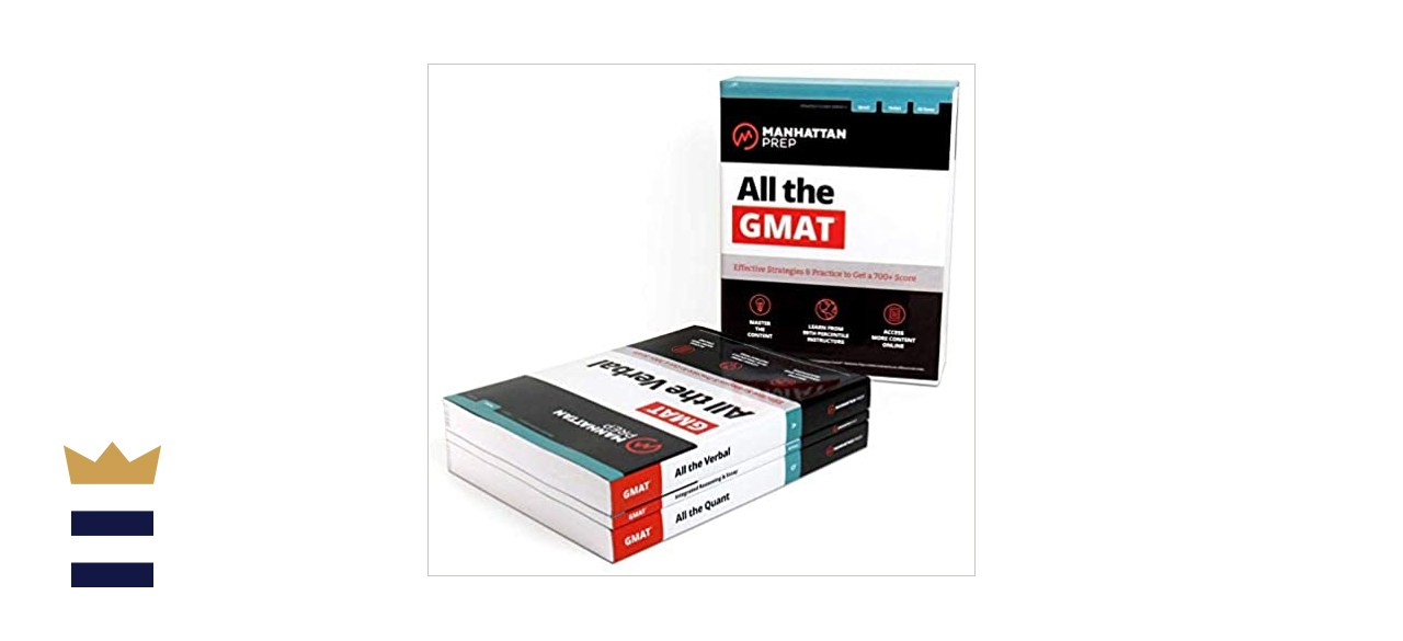 Image of GMAT practice book