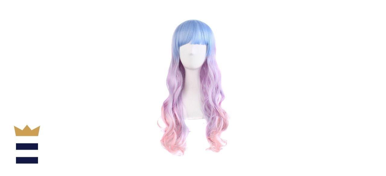 MapofBeauty's Wavy Multicolor Lolita Cosplay Wig