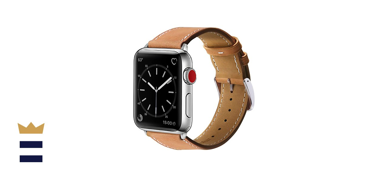 Marge Plus Genuine Leather Apple Watch Band