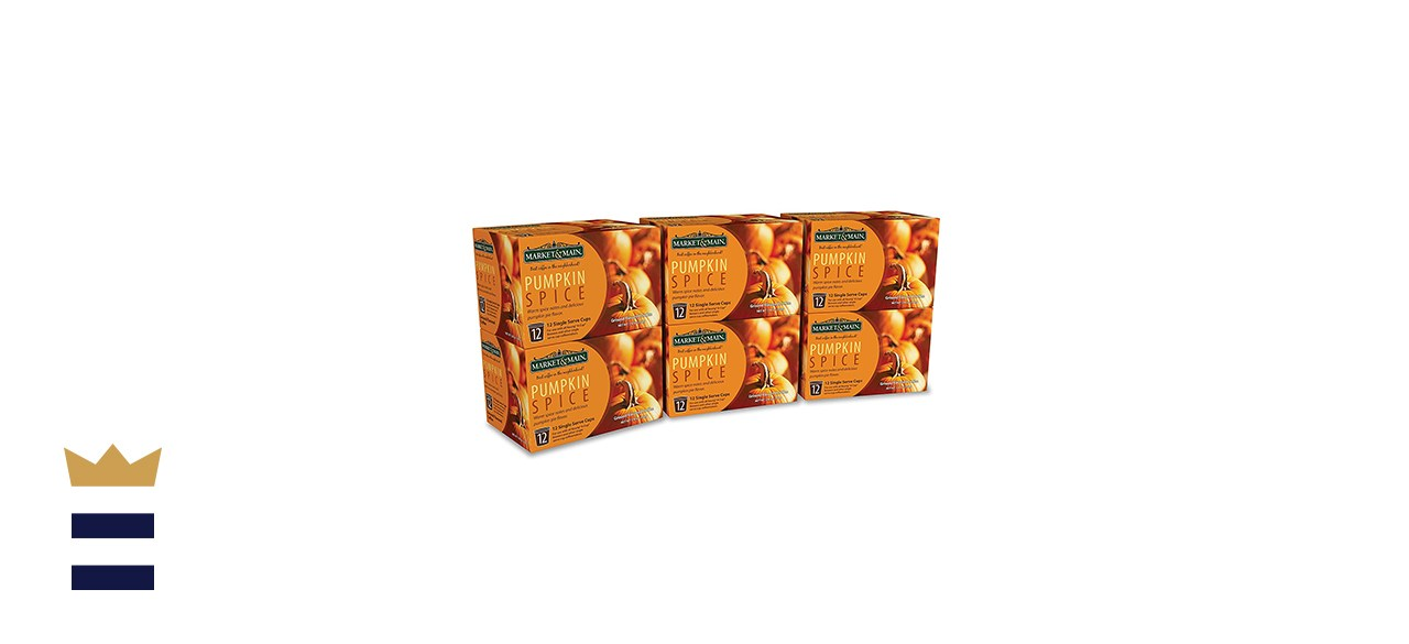 Market & Main One Cup Pumpkin Spice - 72 Count
