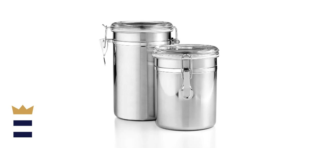 Martha Stewart Essentials Collection Set of 2 Food Storage Canisters