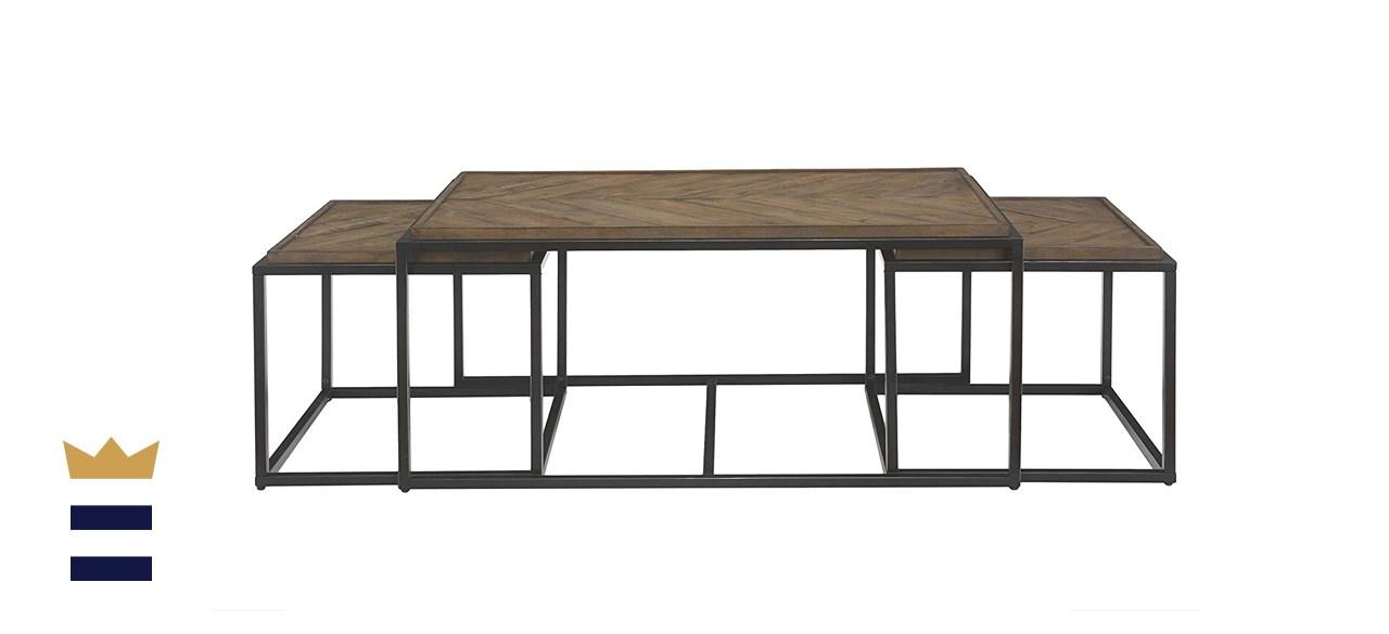 Martin Svensson Home Huntington nesting coffee table set