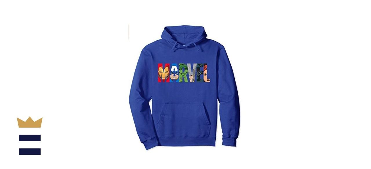Marvel Avengers Heroes Hooded Sweatshirt