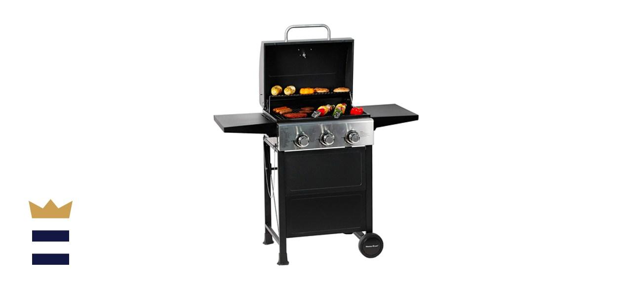 MASTER COOK 3-Burner BBQ Propane Gas Grill
