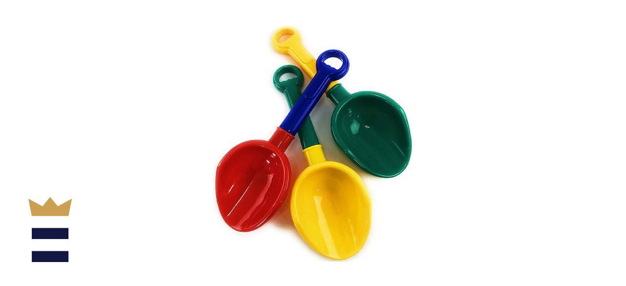 Matty's Toy Stop Kids Multi-Color Sand Scoop Plastic Shovels