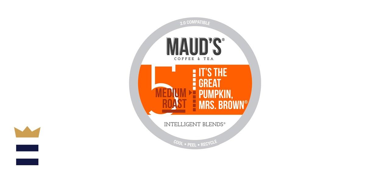 Maud's Pumpkin Spice Coffee Single Serve Pods