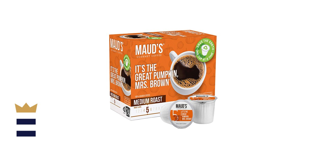Maud's Pumpkin Spice Coffee - 24 Count