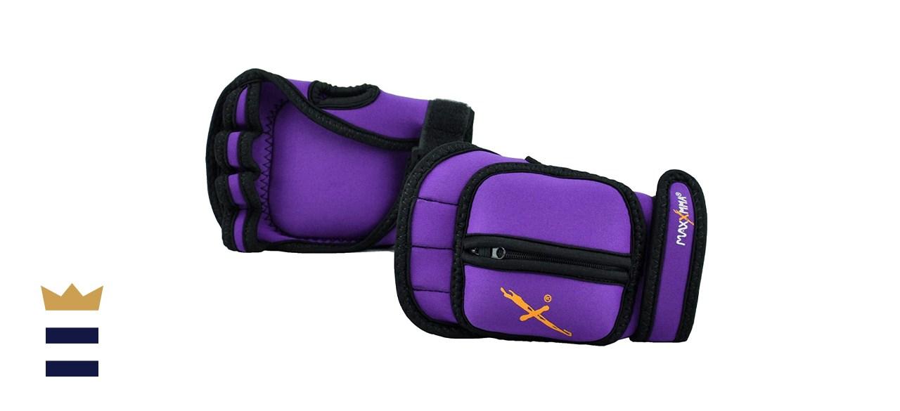 MaxxMMA Adjustable Weighted Gloves
