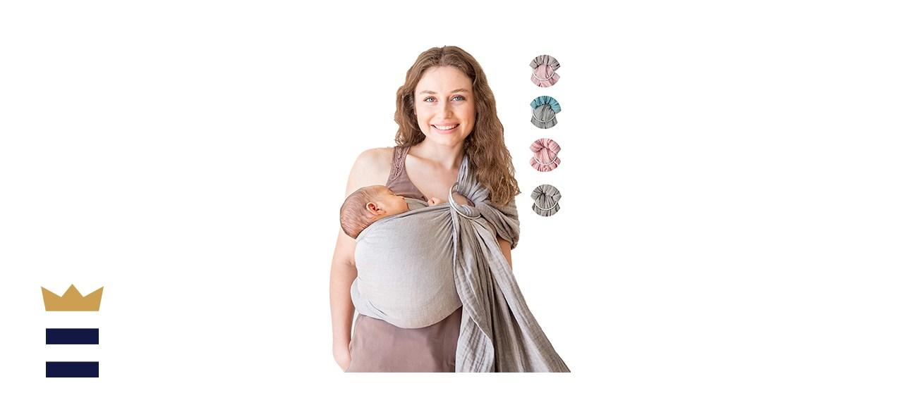 Mebien Baby Carrier Wrap Ring Sling