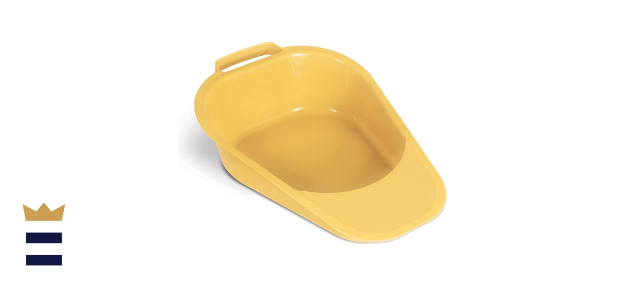 Medpro Fracture Bedpan with Plastic Guard and Built-In Handles
