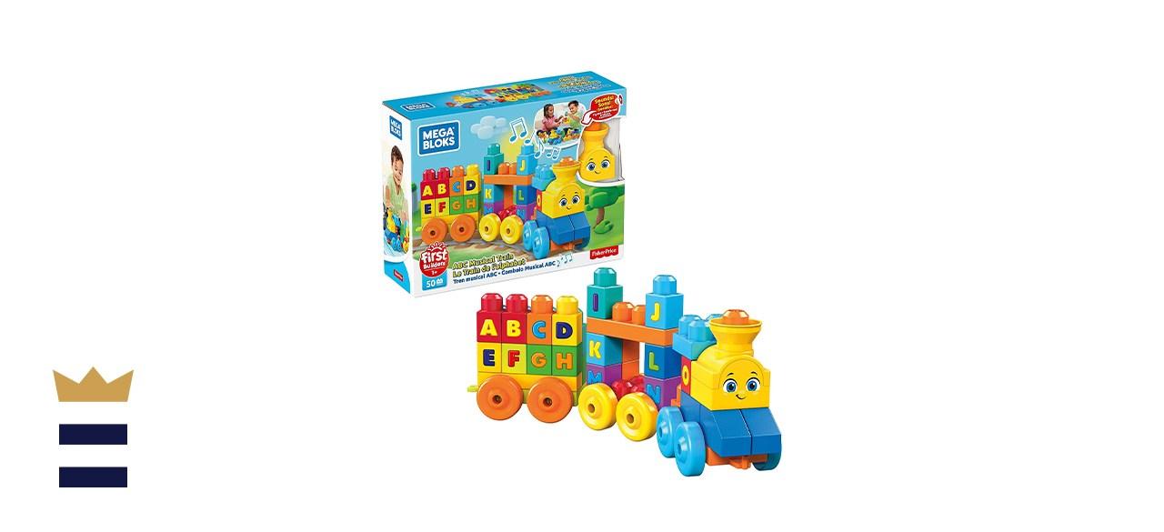 Mega Bloks First Builders ABC Musical Train