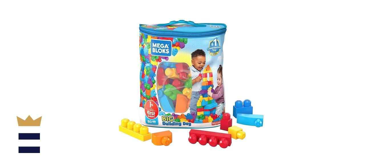 Mega Bloks Mattel Big Building Bag