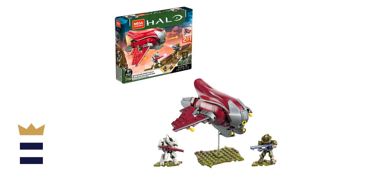 Mega Construx Halo Breakout Banshee