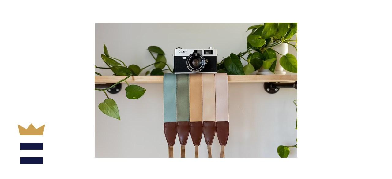 MegssDesign Solid-Colored Camera Strap