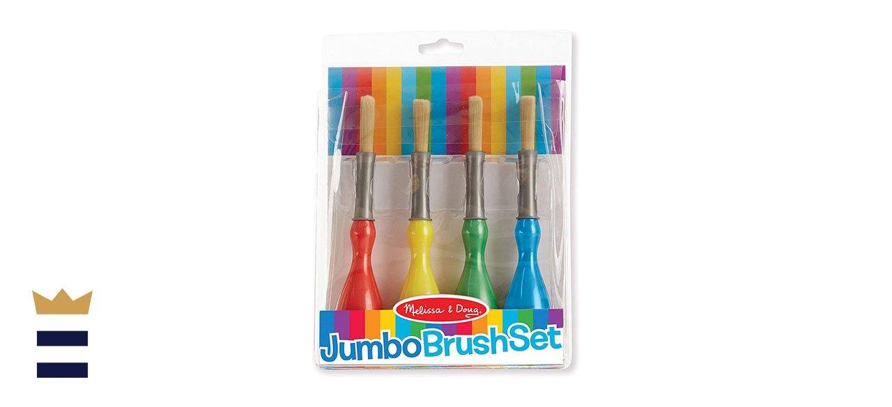 Melissa & Doug Jumbo Paint Brushes, Set of 4