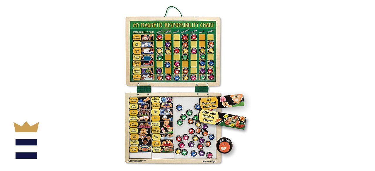 Melissa & Doug's Magnetic Responsibility and Chore Chart