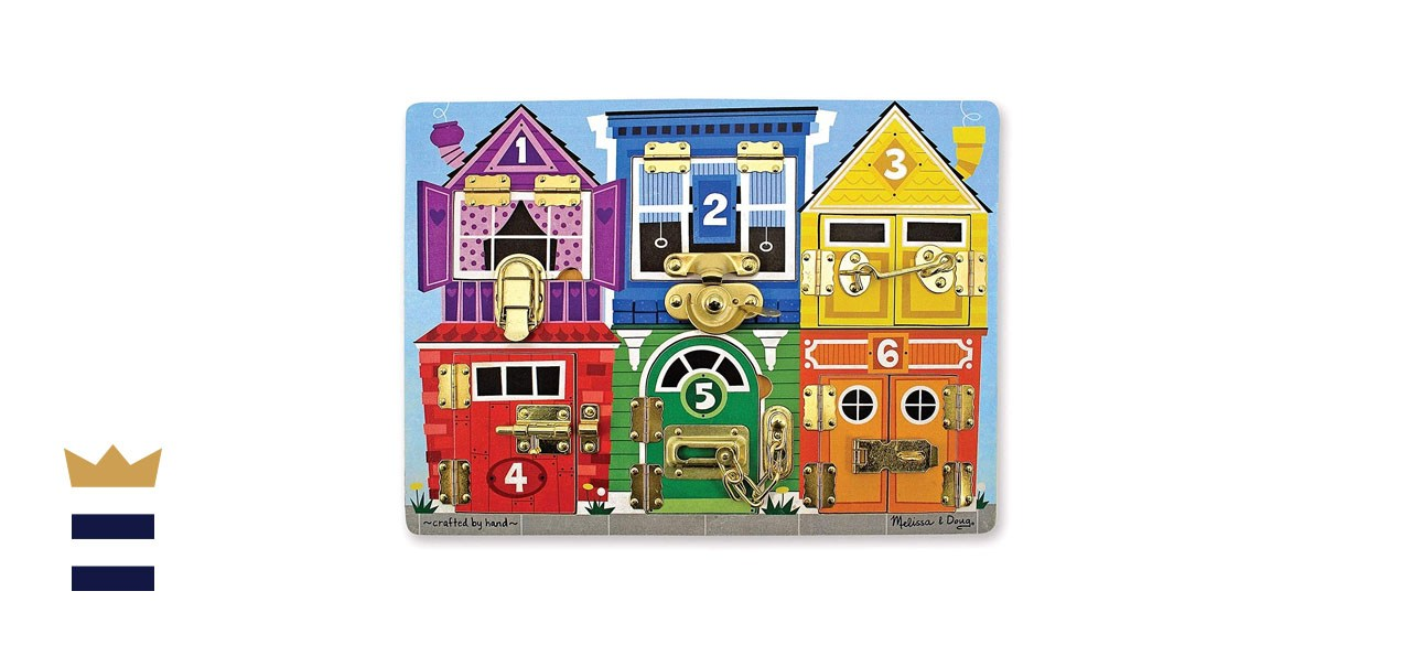 Melissa and Doug Latches Busy Board