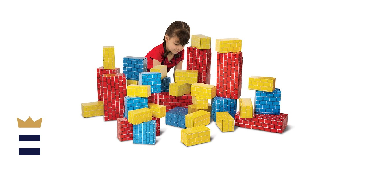 Melissa & Doug Deluxe Combo Cardboard Blocks