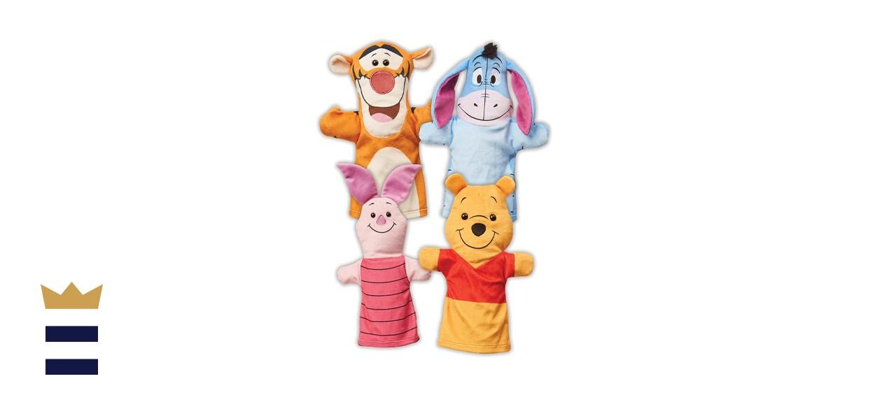 Melissa & Doug Winnie-the-Pooh Hand Puppets