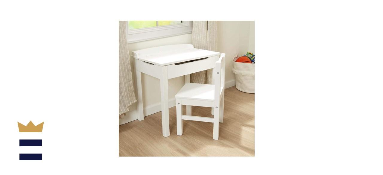 Melissa & Doug Wooden Lift-Top Desk and Chair
