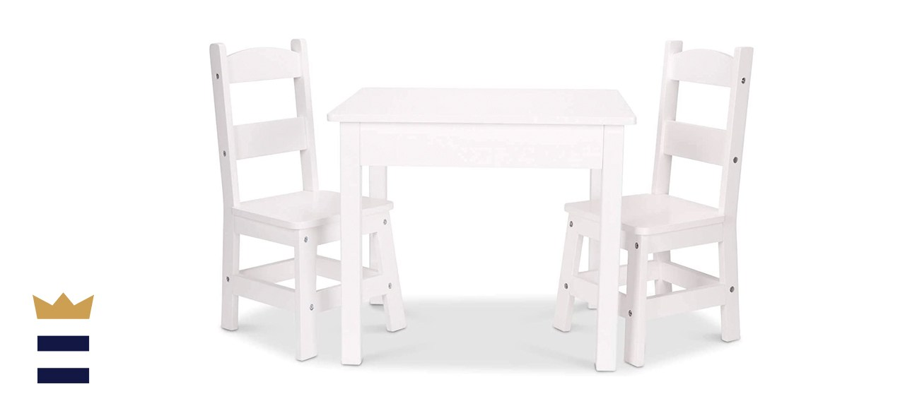 Melissa & Doug Wooden Table and Chairs
