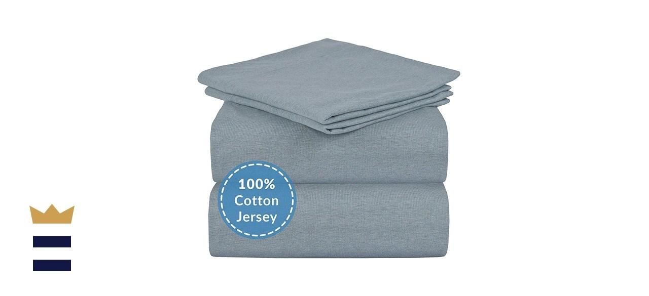 Mellanni Jersey Sheet Set