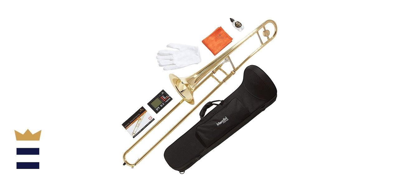 Mendini by Cecilio's Bb Tenor Slide Trombone