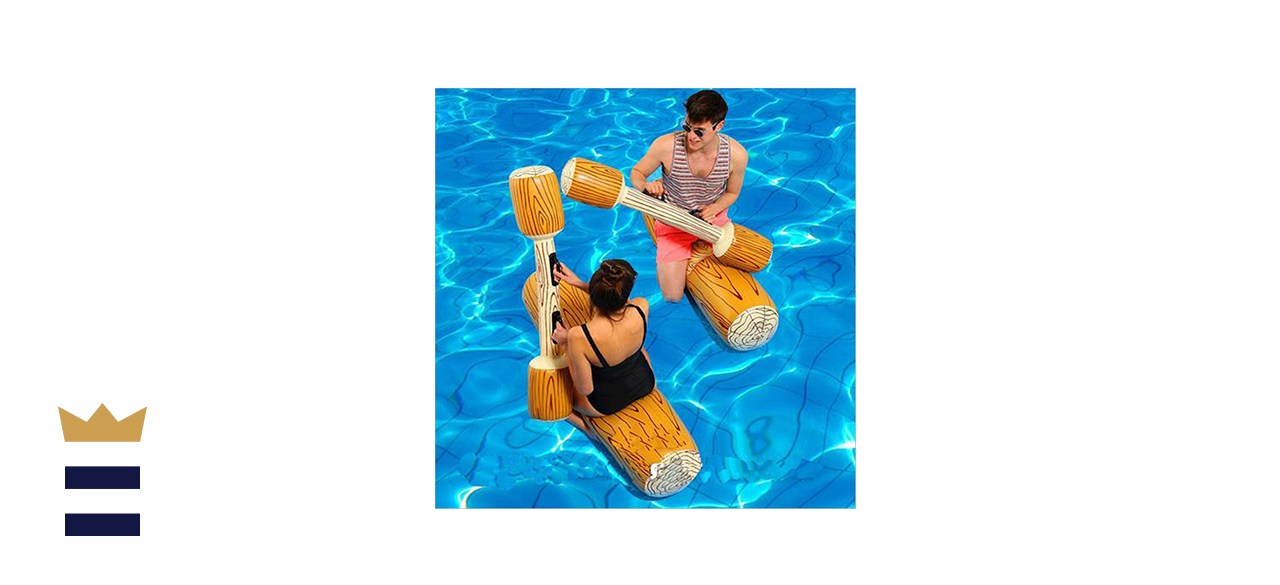 MENGDUO 2 Pcs Set Inflatable Floating Row Toys