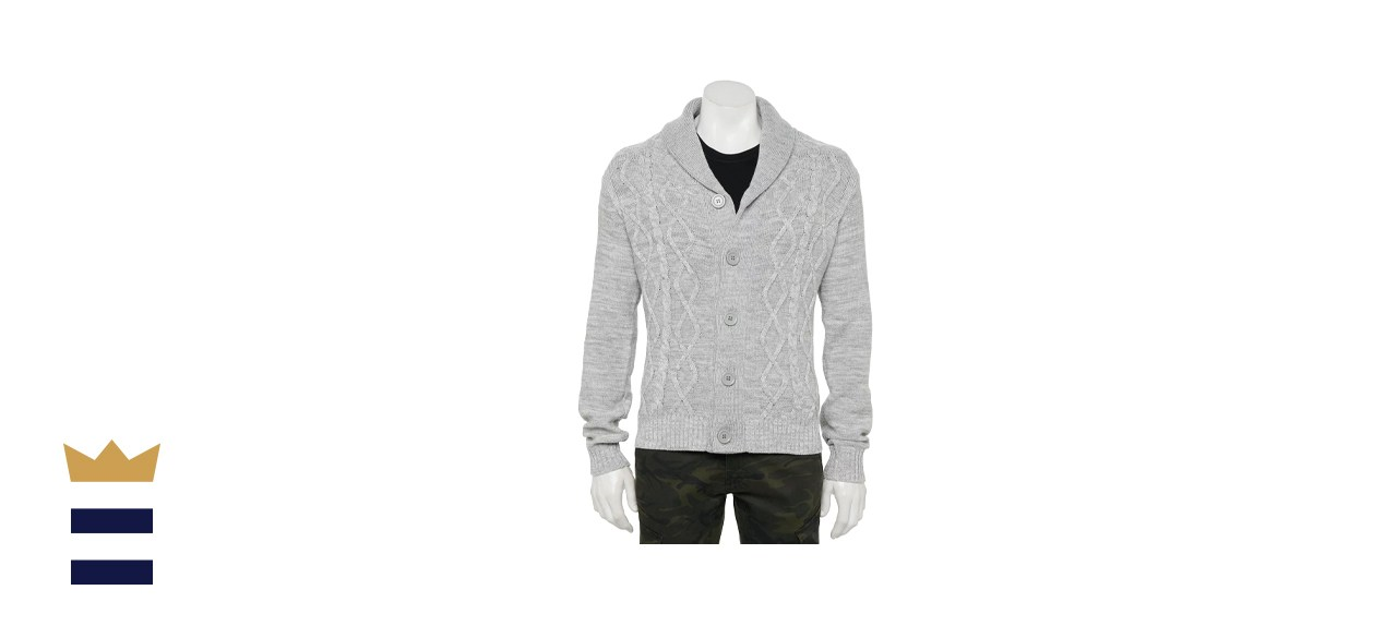 Xray Cable Knit Cardigan