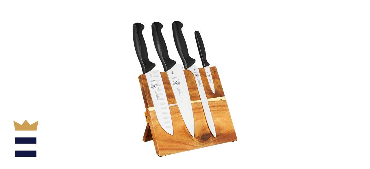 Mercer Culinary Millennia 5-Piece Magnetic Board Knife Set
