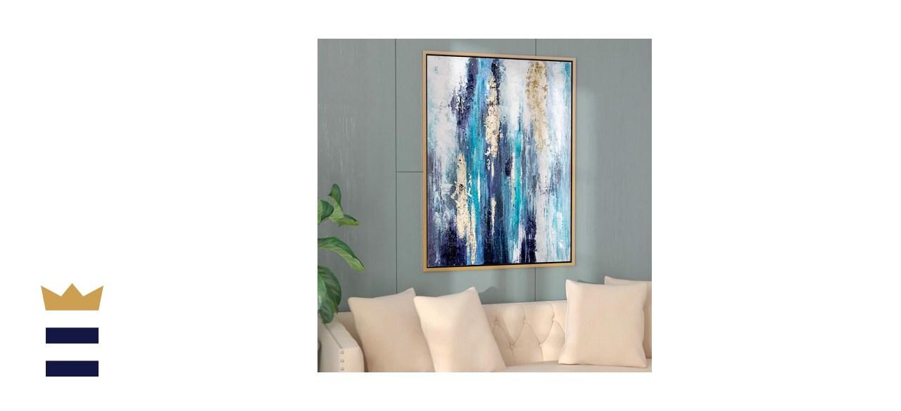 Mercer41 'Dinorah' Floater Frame Print on Canvas