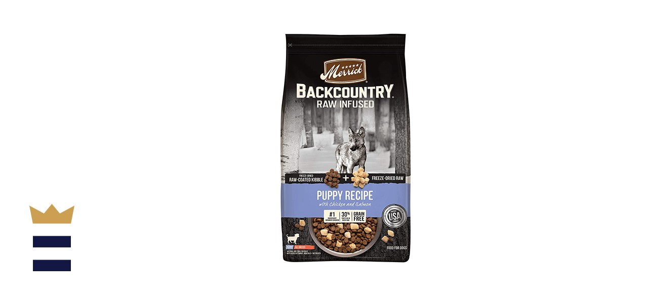 Merrick Backcountry Raw Infused Puppy Dry Dog Food