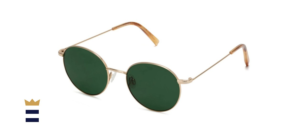 Merrick Polished Gold Sunglasses