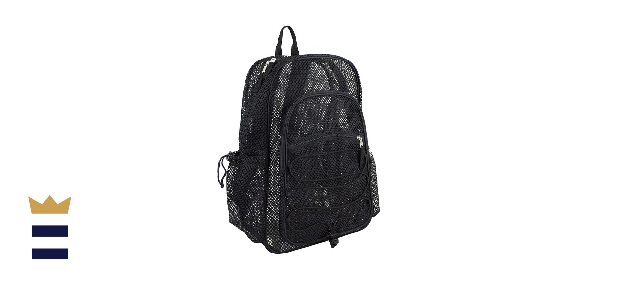 Eastsport's mesh and clear backpacks
