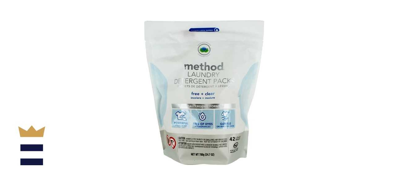 Method Laundry Detergent Packs Free & Clear