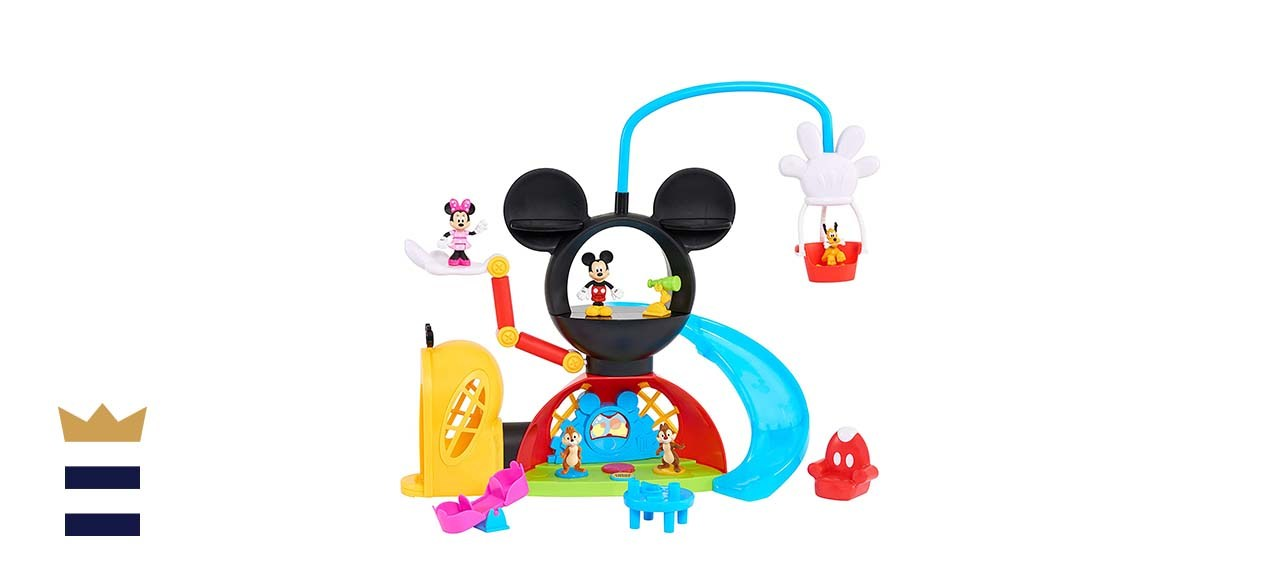 Mickey Mouse Clubhouse Adventures Playset with Bonus Figurines