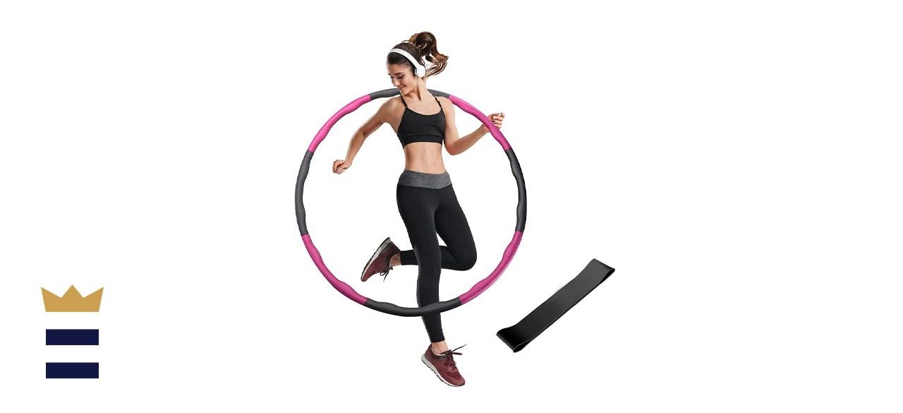 MICOOYO Weighted Hula Hoop