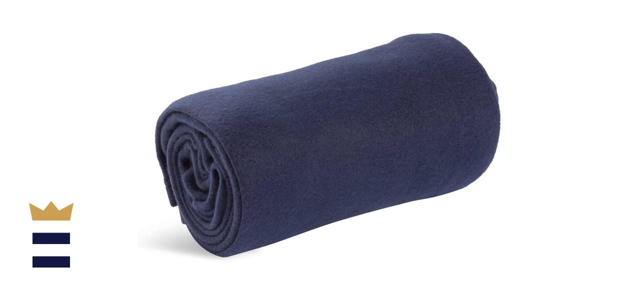 World's Best Cozy-Soft Microfleece Travel Blanket