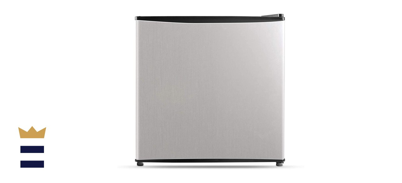 Midea 1.6 Cubic Foot Stainless Steel Compact Refrigerator