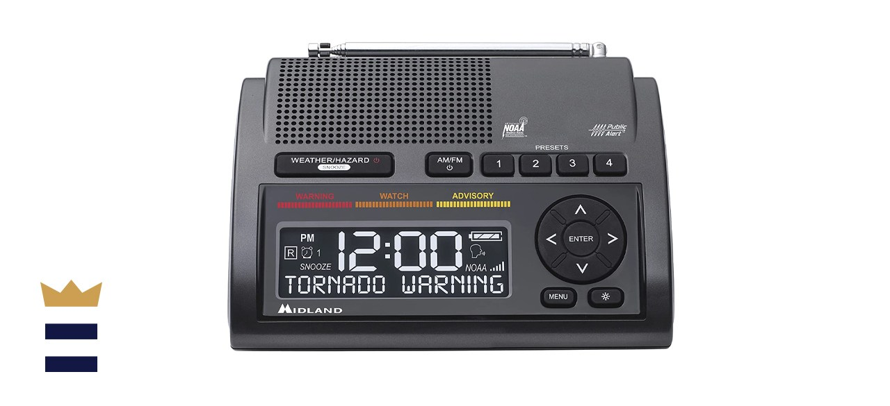 Midland Deluxe NOAA Emergency Weather Alert Radio