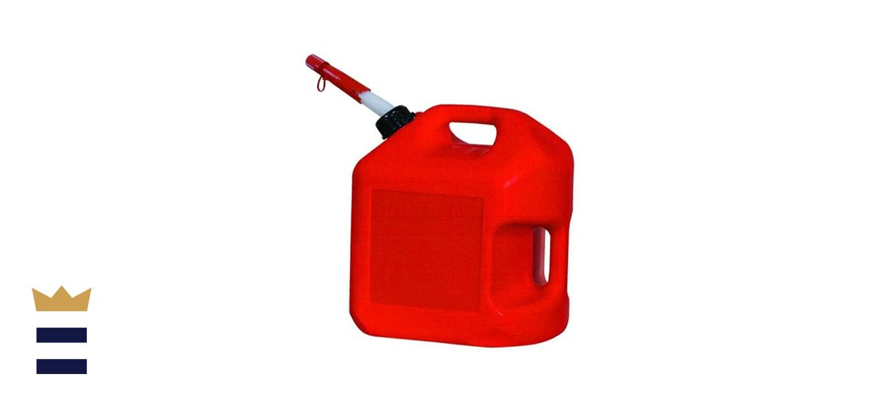 Best gas cansMidwest Can's 5-Gallon Spill-Proof Gas Can