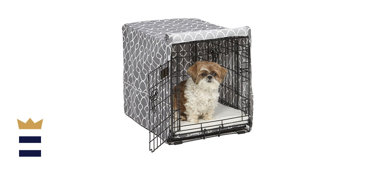 MidWest Homes for Pets Quiet Time Dog Crate Cover
